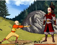 Avatar The Last Air Bender Bending Battle akci� j�t�kok
