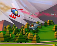 Helicopter shooter HTML5